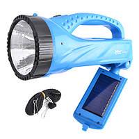 LED-фонарь с ручкой и поворотной светодиодной панелью, Yajia 2835T, заряжается от сети/солнечной энергии