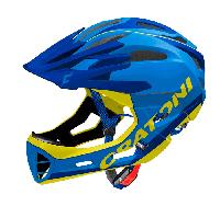 Велошлем C-Maniac Limited Edition синий/желтый размер S/M (52-56 см)