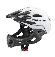Велошлем C-Maniac белый/черный размер S/M (52-56 см)