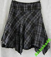 Юбка женская демисезонная c вискозой теплая модная бренд Next р.46