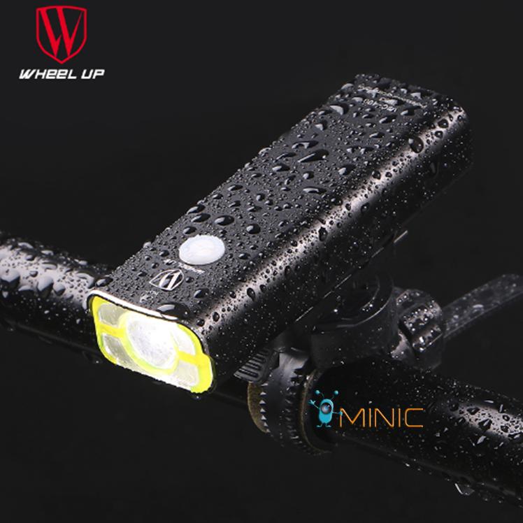 Велосипедный портативный фонарь WHEEL UP V9C-600
