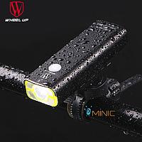 Велосипедный портативный фонарь WHEEL UP V9C-600, фото 1