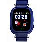 Смарт-часы сGPS, Wi-Fi Smart Baby Watch Q90 Синие, фото 2