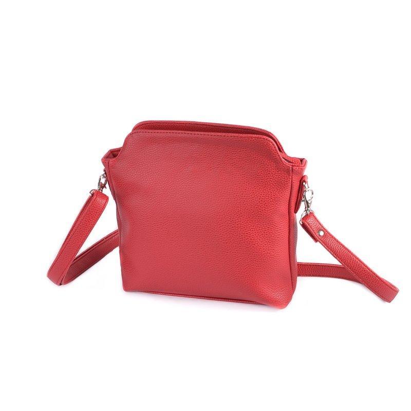 a141fc02e23a Сумка красная М121-68 маленькая через плечо кросс-боди - Интернет магазин  сумок SUMKOFF