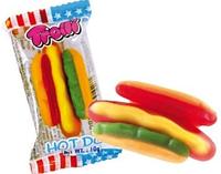 Желейные конфеты Trolli Hot Dog: Жевательный Хот Дог Тролли 10 грамм, оригинал, Германия