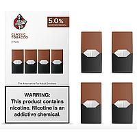 Pods Classic Tobacco Картриджи  для электронной сигареты  (5% никотина, 4 штуки)