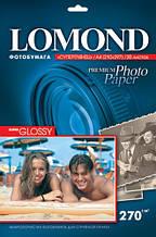 Фотобумага Lomond 270 г/м, суперглянец, А4, 20л Bright