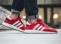 "Кроссовки Adidas Iniki Runner Collegiate ""White/Red"", фото 1"