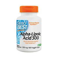 Альфа-липоевая кислота Doctor's BEST Alpha-Lipoic Acid 300 180 veg caps