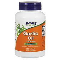 Концентрат чесночного масла NOW Garlic Oil 1500 mg 250 softgels