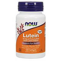 Лютеин NOW Lutein 10 mg 120 softgel