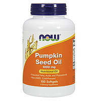 Тыквенное масло NOW Pumpkin Seed Oil 100 softgels
