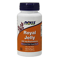 Маточное молочко NOW Royal Jelly 300 mg Eguivalency 100 softgels