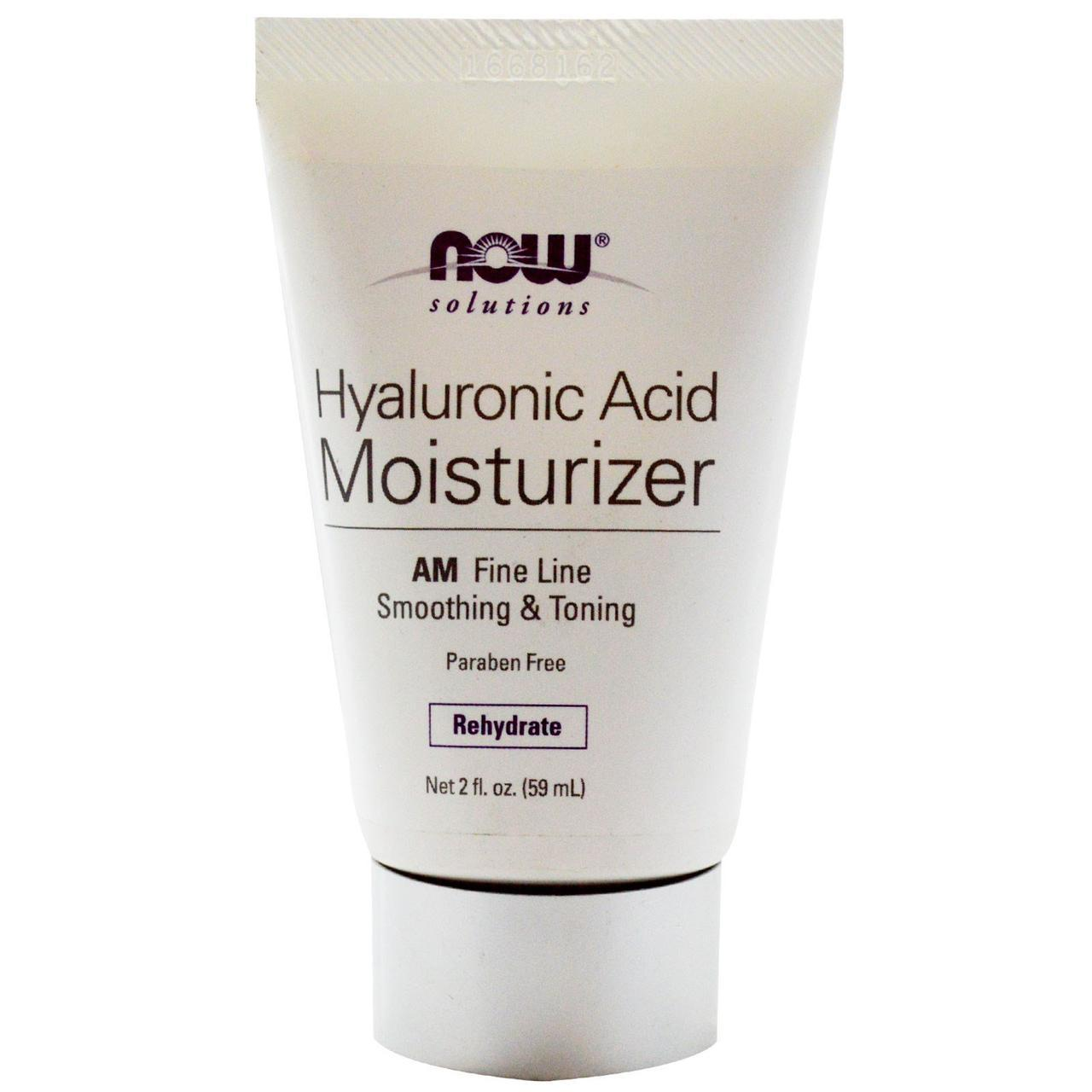 Дневной крем с гиалуроновой кислотой NOW Hyaluronic Acid Moisturizer AM 59 ml