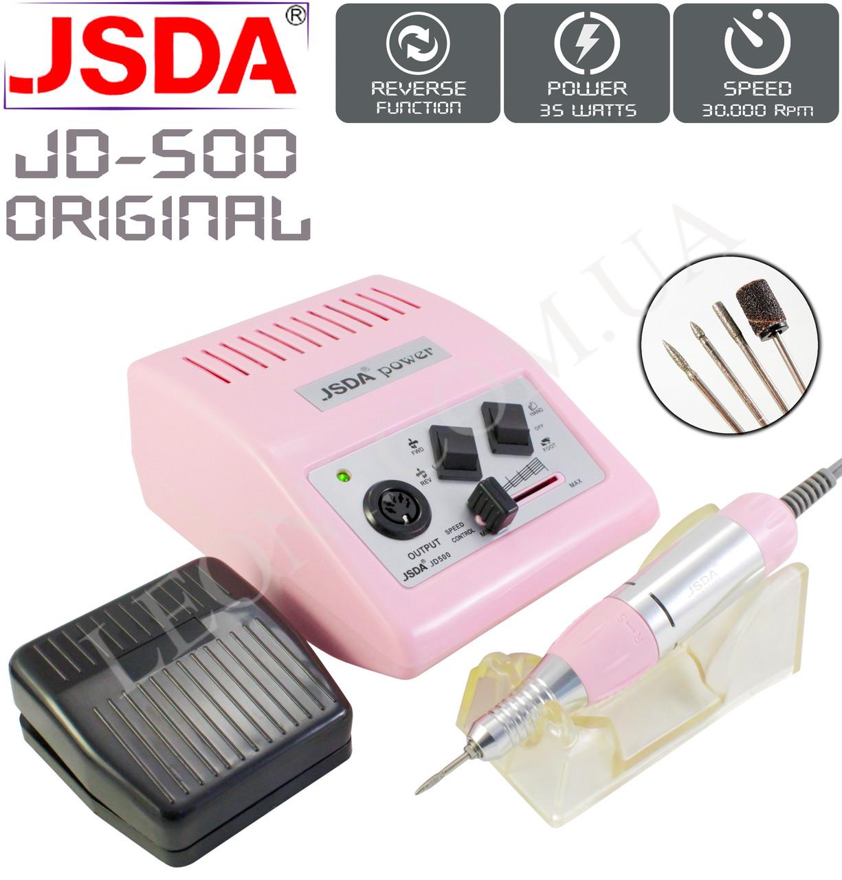 Фрезер для маникюра и педикюра JSDA JD-500 Оригинал 35W/30000 об/мин.
