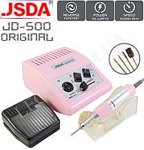 Фрезер для манікюру і педикюру JSDA JD-500 Оригінал 35W/30000 об/хв.