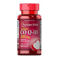 Коензим Q-10 Puritan's Pride CO Q-10 200 mg 60 softgels
