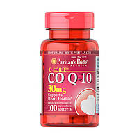 Коензим кью 10 Puritan's Pride CO Q-10 30 mg 100 softgels