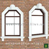 Обрамление окон на фасаде дома: наличники, карнизы, замки, подоконники