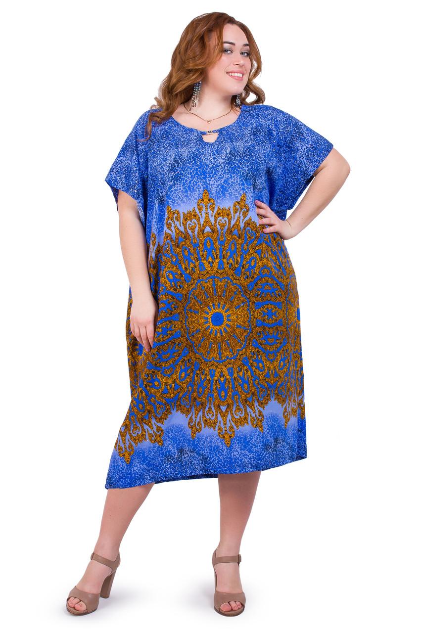 Женское летнее платье 1706-1