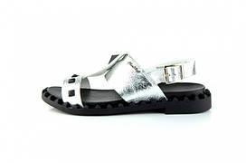 Женские сандали с натуральной кожи Carlo Pachini 2542/81 SD 556832 Silver р. 37 38