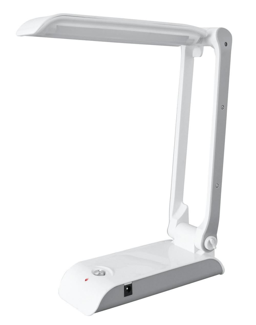 Настольная LED лампа с солнечной панелью Yajia YJ-5852 RT Белая