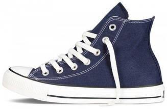 Кеды Converse All Star высокие Replica (реплика) темно-синие New Styles, фото 2