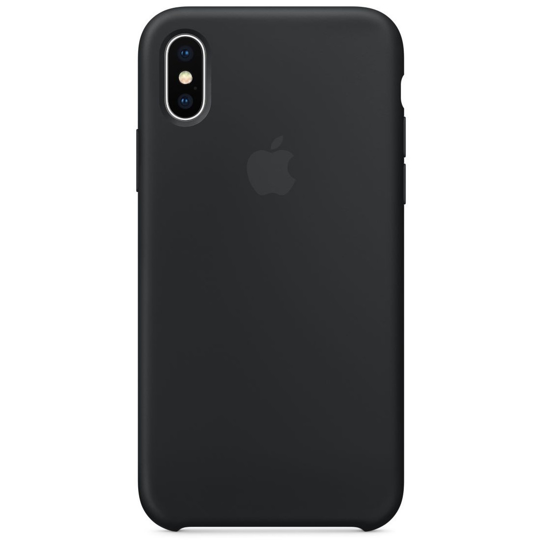 Чехол накладка xCase для iPhone XS Max Silicone Case черный