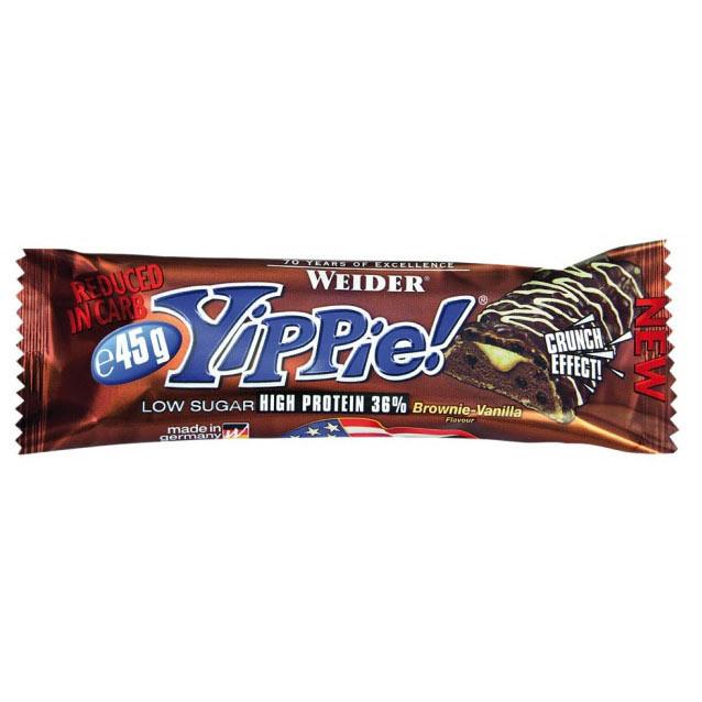 Протеиновый батончик Weider Yippie! 45 g