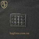 Дорожная спортивная сумка  NIKE черная с серым -15л., фото 6