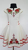 Вышитое платье для девочки