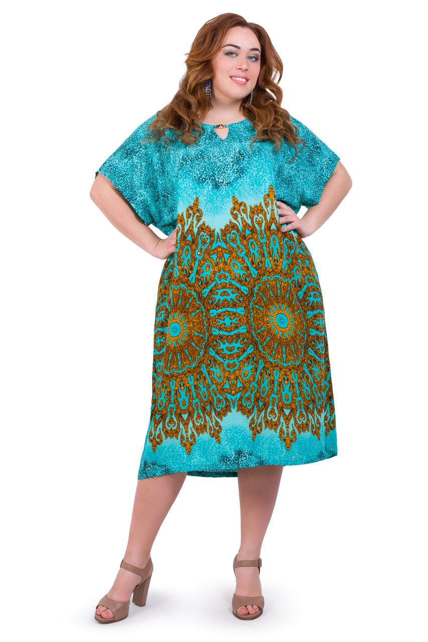 Женское летнее платье 1706-4