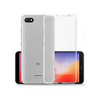 Накладка для Xiaomi Redmi 6A силикон Ultra Thin Air Case Прозрачный