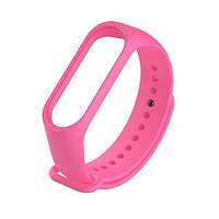 Ремінь для браслету Xiaomi Mi Band 3/Mi Band 4 UWatch Luminous Silicone Bright Pink