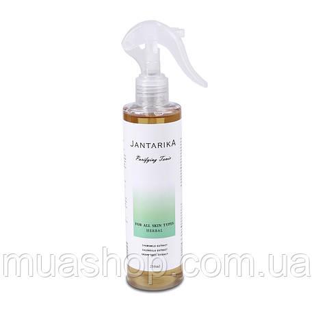 Очищающий тоник после депиляции JANTARIKА Herbal (Травы) 250 мл, фото 2