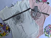 Красивая футболка для девочек TOONTOY от 8 до 14 лет.