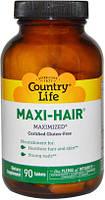 Витамины для волос, кожи и ногтей Maxi-Hair ® 90 таблеток, пластиковая банка. Сделано в США.