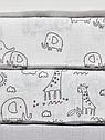"""Набор с 5-ти муслиновых пеленок для мальчика или девочки/ унисекс George (Англия) """"Динозавры"""", фото 2"""