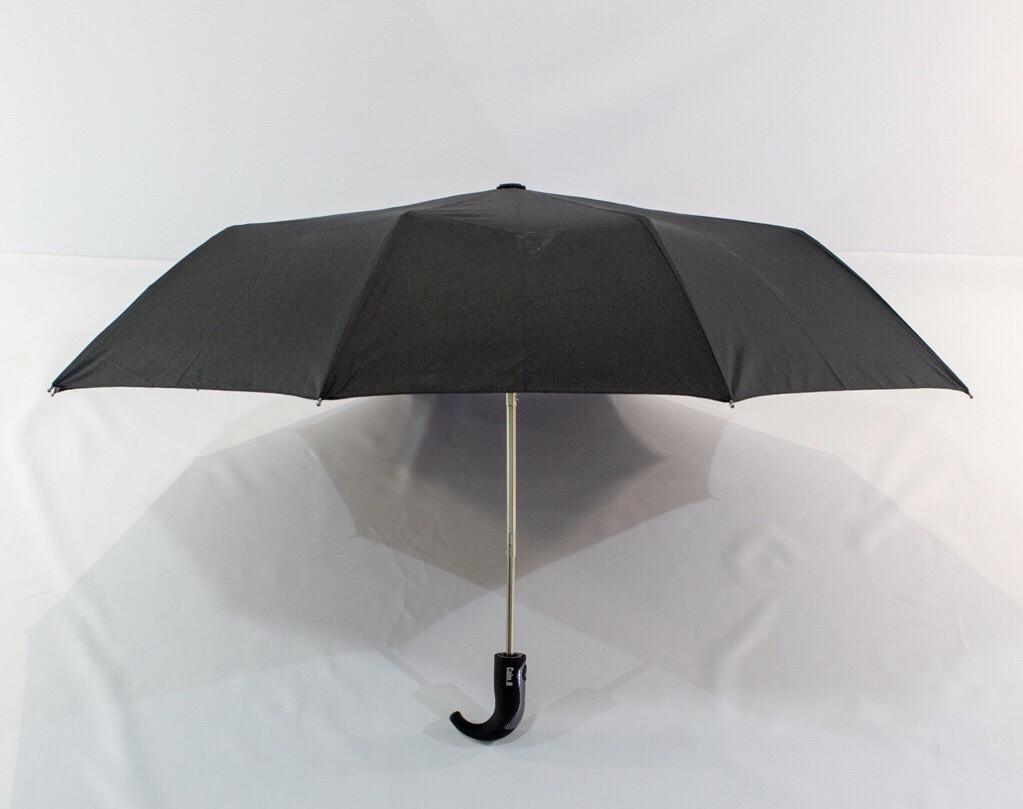 Зонт мужской чёрный полуавтомат 10 спиц