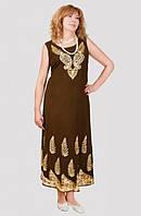 Модное женское платье на лето с очень красивым узором