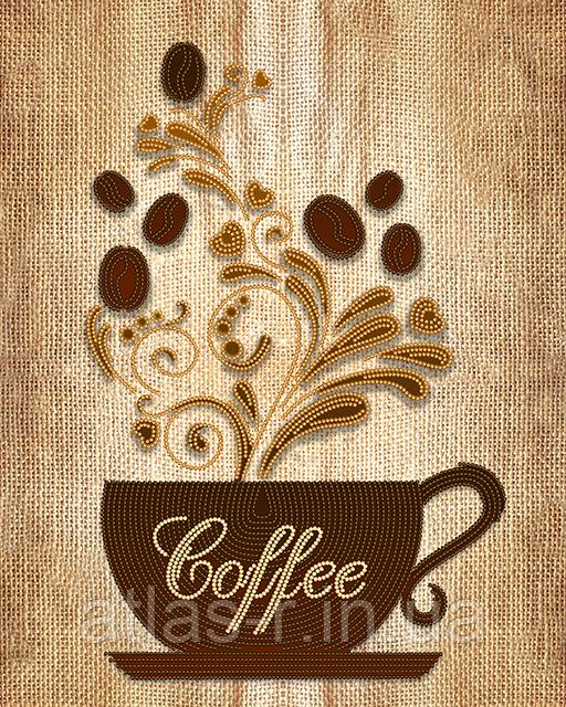 """Схема для вышивки бисером  """"Кофе"""""""