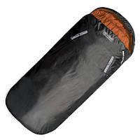 Спальный мешок Highlander Sleephuggerzs/+4°C Black/Orange (Left)