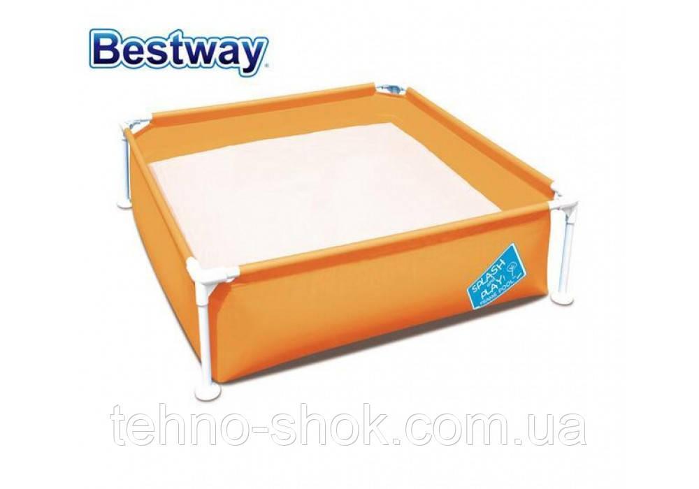Каркасный бассейн Bestway 56217, 122 х 122 х 30.5 см