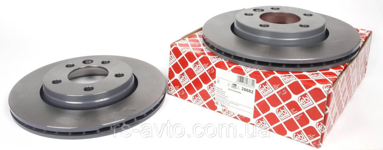 Диск тормозной задний VW T5 03- (294x22)  7H0615601B