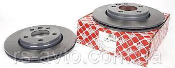 Диск тормозной задний VW T5 03- (294x22)  7H0615601B, фото 2
