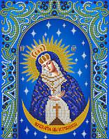"""Схема для вышивки бисером иконы """"Остробрамская икона Божией Матери"""""""
