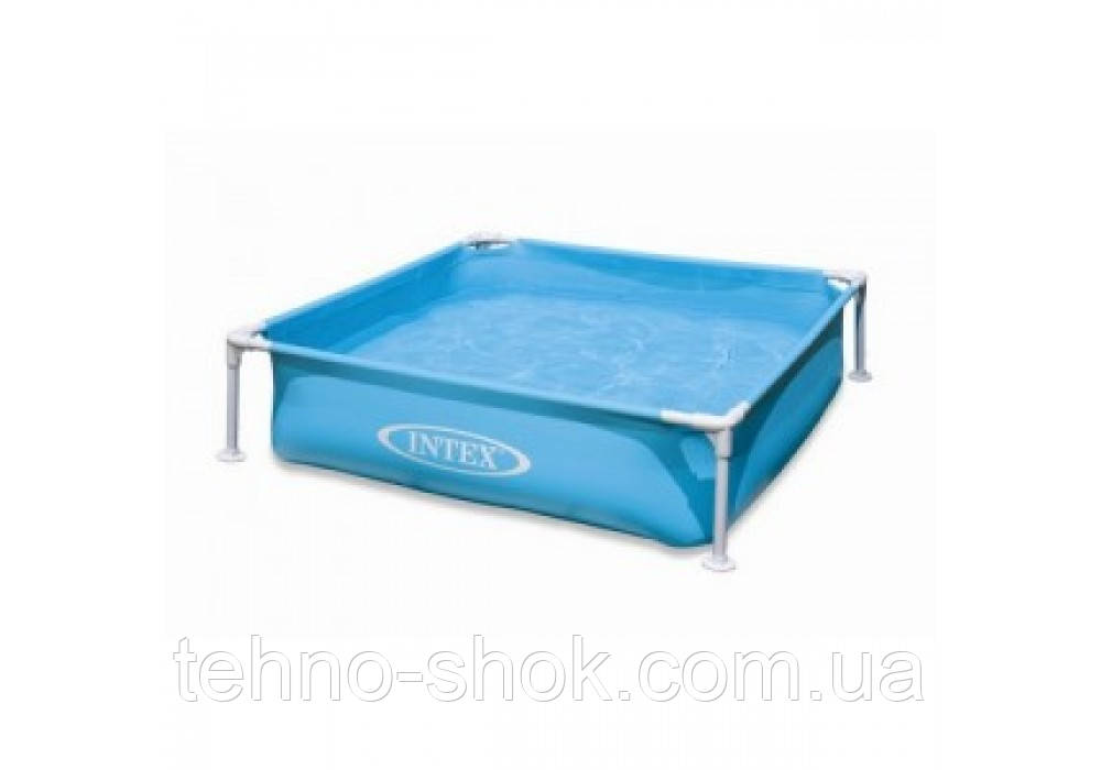 Intex 57173 Детский каркасный бассейн 122 х 122 х 30 см