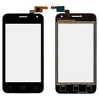 Сенсортачскрин для Alcatel 4024D One Touch Pixi First Black