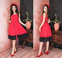 Женское летнее платье без рукавов.Размеры:42-46.+Цвета, фото 1