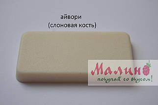 Кухонная мойка 2 х секционная гранитная 78*50*20 см ADAMANT ANILA PLUS (айвори) , фото 3